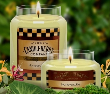 Candleberry Honeysuckle Candles