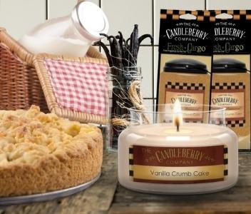 Candleberry Vanilla Crumb Cake Candles