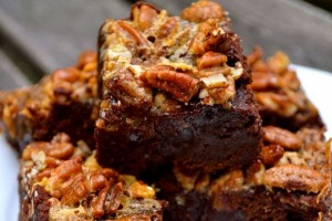 candle-brownie-pecan-pie
