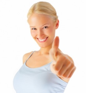 Thumbs up girl4