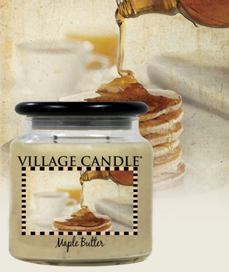 village-candle-maple-butter