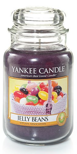 Jelly beans candle