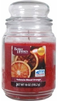Valencia blood orange candle better homes and gardens Better homes and gardens diffuser