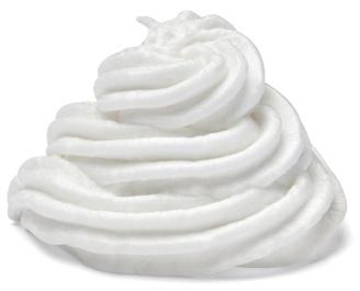 whipped vanilla cream