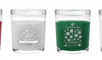 Holiday 2015 Colonial Candle Collection