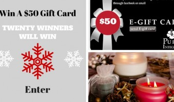 Win a $50 E-Gift Certificate to Pure Integrity Candles