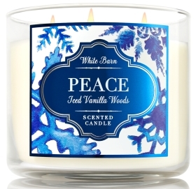 Peace candle bath and body works