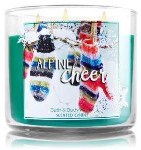 alpine cheer candle