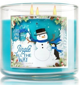 jingle all the way candle