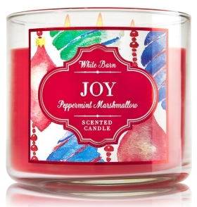 joy candle bath and body works