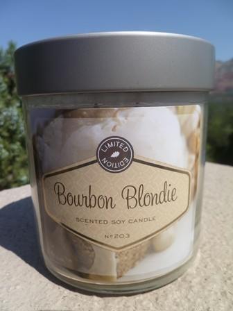 Bourbon blondies candle