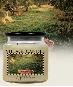 Village apple orchard candle