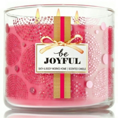 be joyful candle