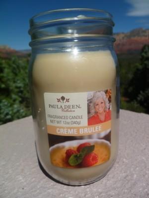 creme brulee paula dean candle