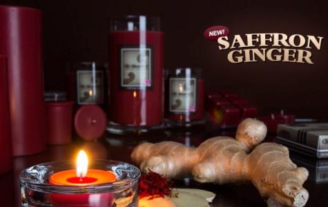 Saffron Ginger candle