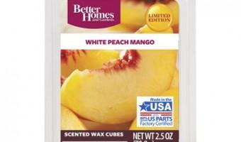 White Peach Mango Wax Melts – Better Homes and Gardens