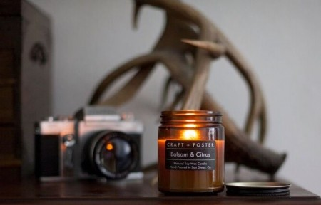 Balsam and Citrus Craft and Foster Candle