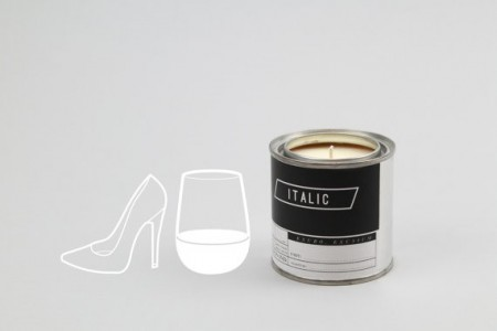 One Night Stand Italic Candle