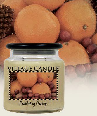 Village Cranberry Orange candle