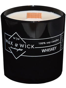 Whisky Wax and Wick Candle