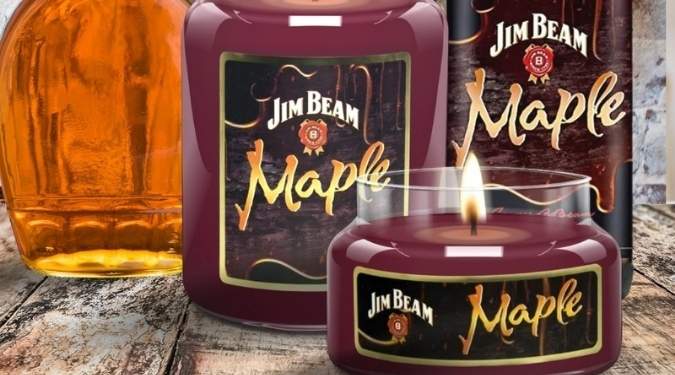 Candleberry Jim Beam Candles