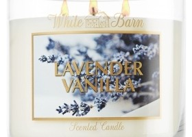 New Giveaway – Lavender Vanilla Candle from White Barn