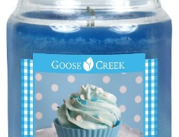 New Giveaway – Large Blue Raspberry Cupcake Candle from Goose Creek