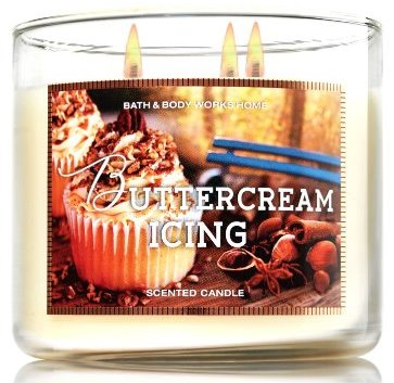 buttercream icing bath and body works candle