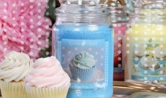 New Giveaway! TWO Large Goose Creek Cupcake Candles