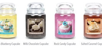 Cupcake Candles from Goose Creek