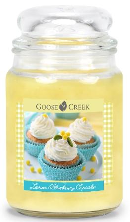 Lemon Blueberry Cupcake Candle Goose Creek