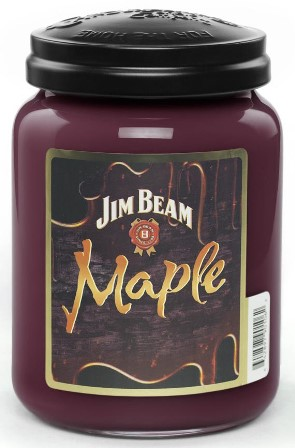 Jim Beam Maple Candle