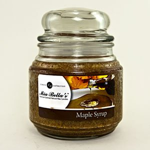 maple syrup candle