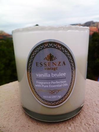vanilla brulee essenza candle