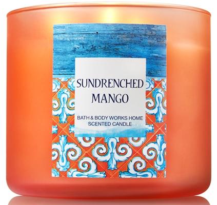 sundrenched mango candle
