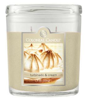 turbinado & cream candle