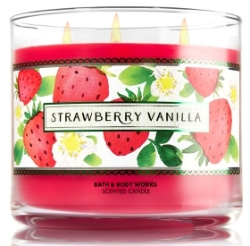 Strawberry Vanilla Candle