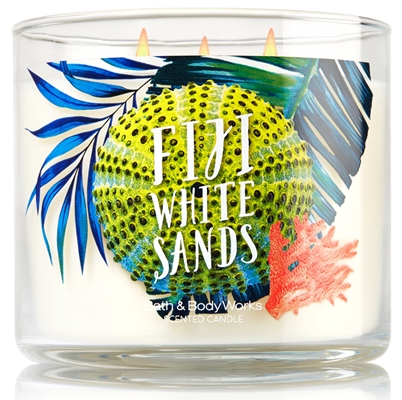 fiji white sands candle