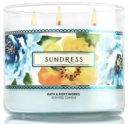 sundress candle