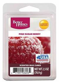 Pink sugar berry wax melts