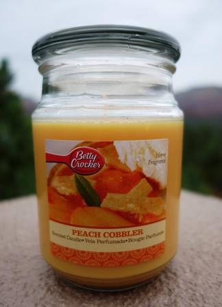 peach cobbler candle betty crocker