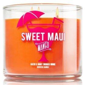 sweet maui mango candle