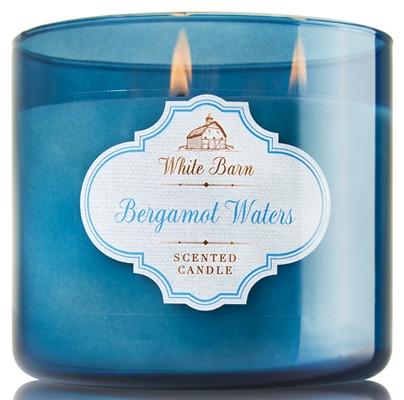 bergamot waters candle