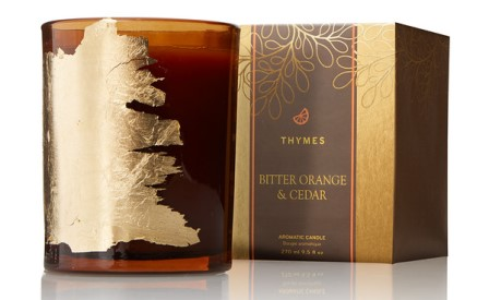 Bitter orange and cedar thymes candle