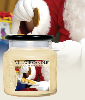 cookies-for-santa-candle