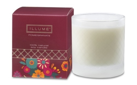 pomegranate illume candle
