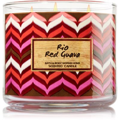 rio red guava candle