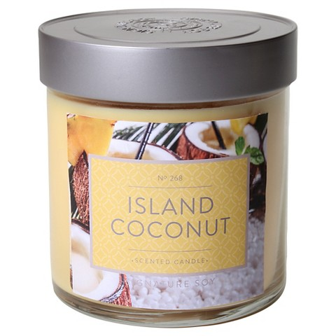 island-coconut-candle