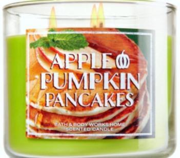 apple-pumpkin-pankcakes-candle