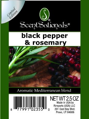 Black Pepper & Rosemary
